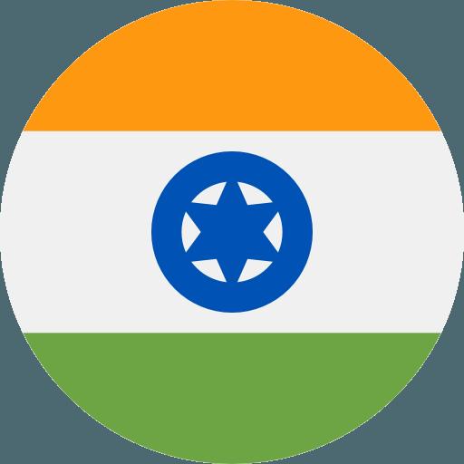 Valutakurs for INR